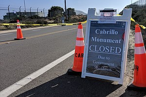 Cabrillo National Monument Closed Due To Government Shutdown