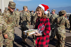 Photo for Troops Continue Deployment At Border Over Holidays