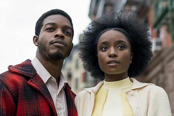 Stephan James and KiKi Layne star in Barry Jenkins' adapt...
