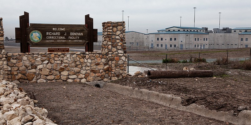 The Richard J. Donovan Correctional Facility in Otay Mesa is shown on Dec. 21...