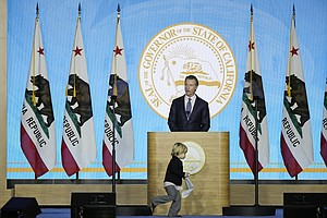 Photo for Gov. Newsom Previews Policy Priorities In Inaugural Speech
