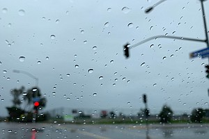 Moderate Rain Expected, Snow Possible In San Diego County...