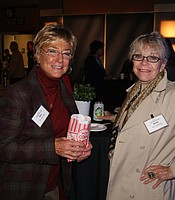 Producers Club members Dr. Dee Aker and Anne Hoiberg.