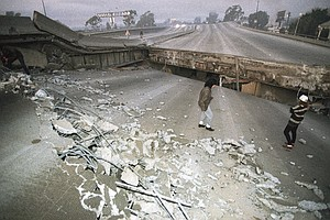 Photo for Northridge Quake Thrashed Los Angeles 25 Years Ago Today