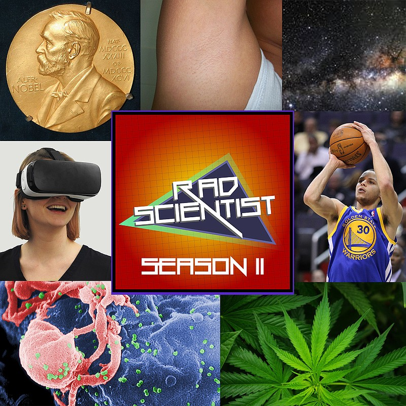 A collage of images from Rad Scientist season 2.