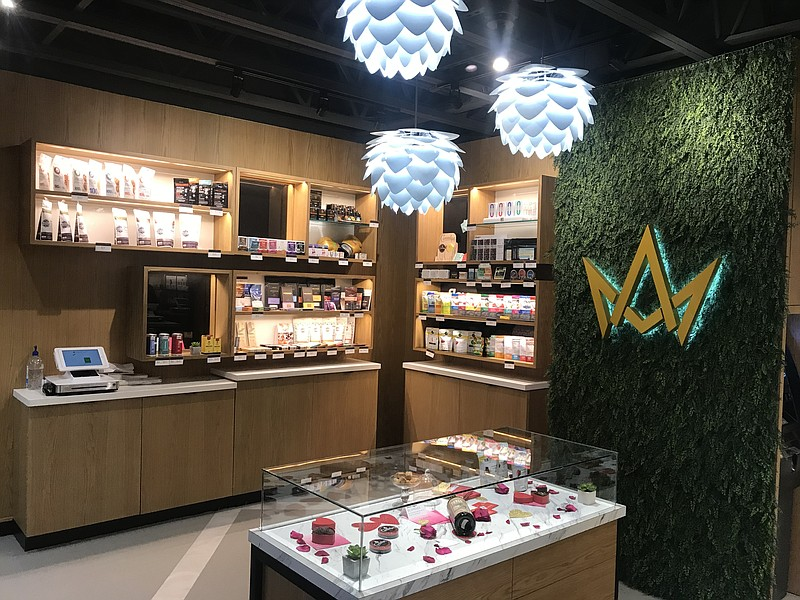 March and Ash is a cannabis dispensary in Mission Valley. Photo taken on Janu...
