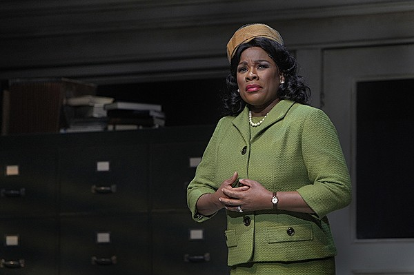 Denyce Graves as Mrs. Miller, Donald's mother in Minnesot...