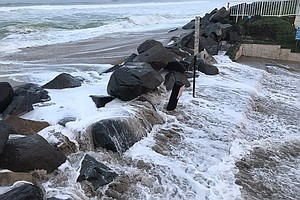 King Tides Pressure San Diego Coastal Cities
