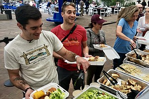 Furloughed Federal Employees Served Lunch Courtesy Of San...