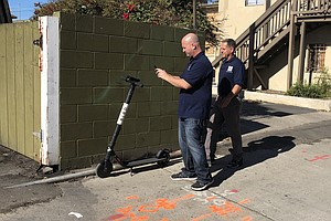 Company Goes After Dockless Scooters Parked On Private Pr...