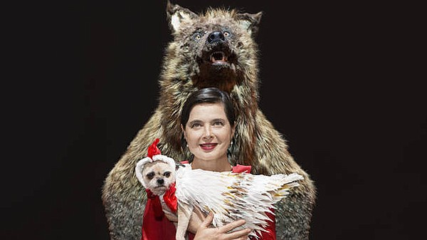 A promotional photo of Isabella Rossellini's Link Link Ci...