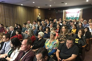Photo for San Diego County Board Of Supervisors OKs Temporary Migrant Shelter
