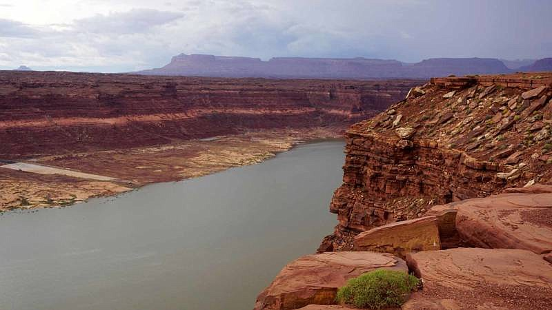 The Colorado River, shown here in this undated photo, supplies 40 million peo...