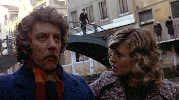 Donald Sutherland and Julie Christie star as a couple gri...