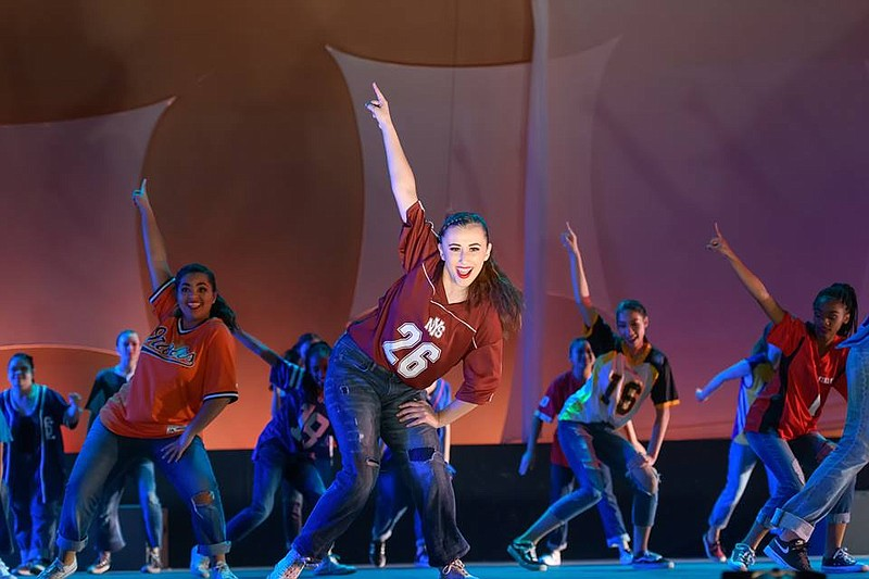 A 2018 photo from Collage dance show.