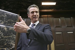 Photo for Newsom Discusses Border Region During San Ysidro Visit