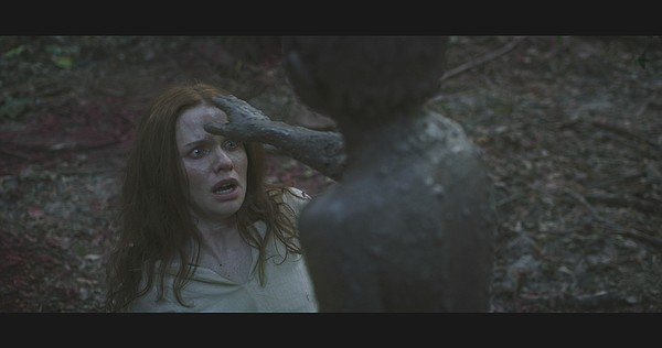 Hanna (Hani Furstenberg) faces the creature she created i...