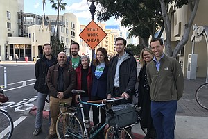 Photo for San Diego Bike Advisory Board Bids Farewell