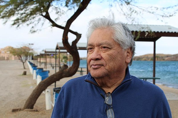 Dennis Patch, chairman of the Colorado River Indian Tribe...