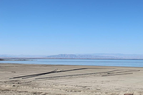 The Salton Sea is pictured in this undated photo.