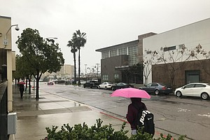 Second Storm Expected To Bring Scattered Showers To San D...