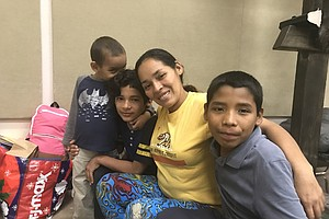 Asylum-Seekers Find Shelter In San Diego After Release On...