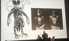 John Jennings' Scary Black Folks panel at Horri...