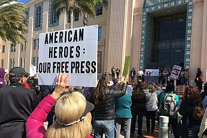 Activists Call Out 'Fake Emergency' At San Diego Rally