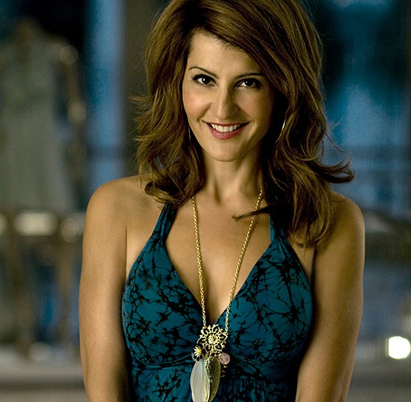 A 2019 photo of actor and writer Nia Vardalos, who wrote ...