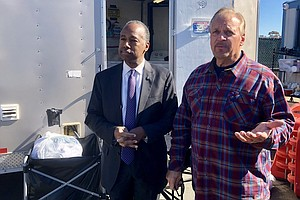 HUD Secretary Visits San Diego For Homeless Conference
