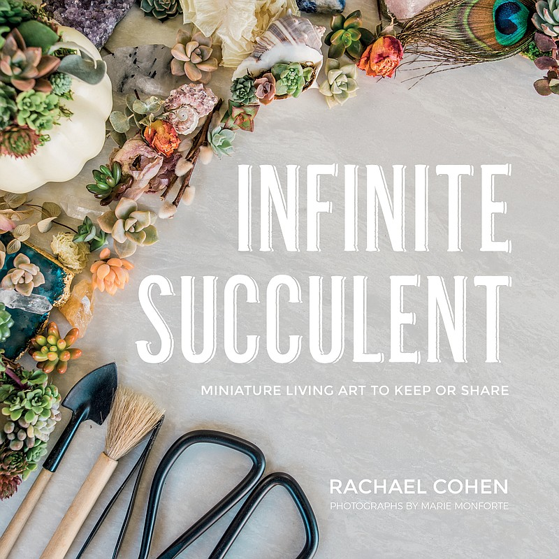 """The cover of """"Infinite Succulent: Miniature Living Art to Keep or Share."""""""