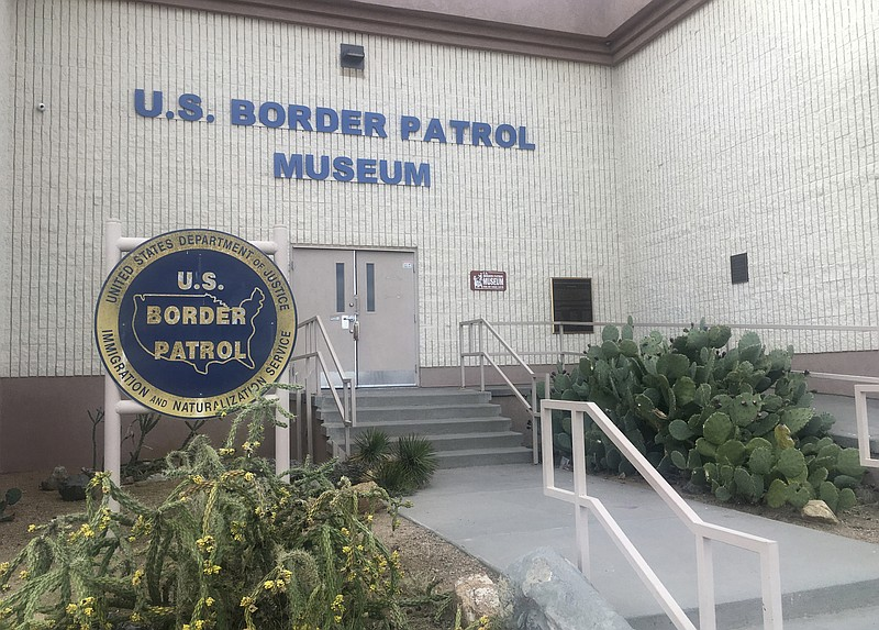 In this Nov. 29, 2018 photo, is the entrance of the U.S. Border Patrol Museum...