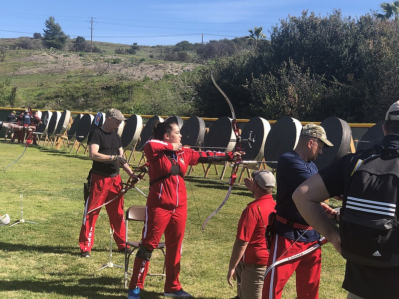 Marines from Wounded Warrior regiments from east and west coast compete, Marc...