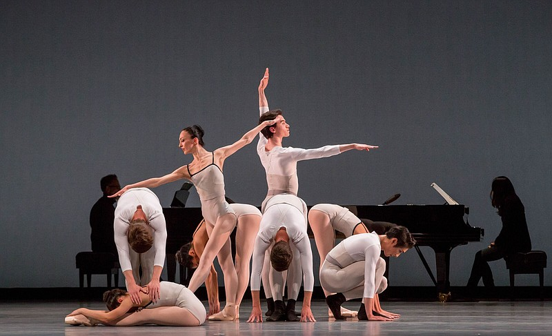 A 2018 photo of dancers from The Joffrey Ballet.