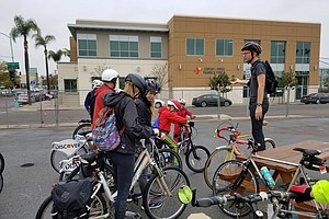 Photo for Class Aims To Keep City Heights Bike Riders Safe On Dangerous Streets