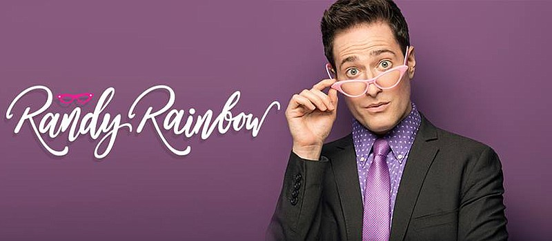 A 2019 publicity photo of Randy Rainbow.