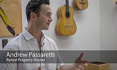 Andrew Passaretti, rental property owner, is in...