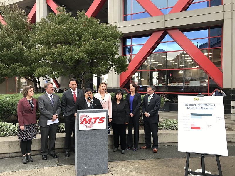 San Diego Sales Tax 2017 >> Mts Polling Finds 2020 Tax Measure Within Reach Kpbs