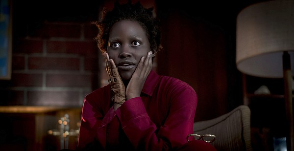 Actress Lupita Nyong'o plays two characters in