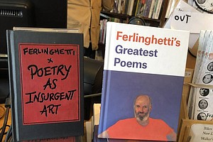 Photo for Literary Icon Lawrence Ferlinghetti Marks His 100th Birthday With New Work