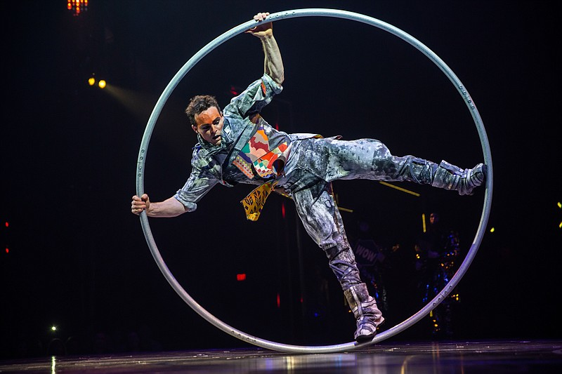 A photo from Cirque du Soleil's Volta.