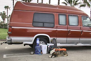 San Diego Bans Homeless From Living, Sleeping In Vehicles
