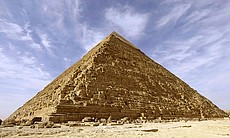 Pyramid at Giza in Egypt.