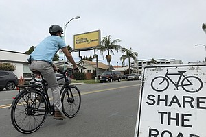 Photo for Activists Rallying For Protected Bike Lanes In North Park