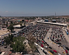 Commuters wait in line at the San Ysidro Port o...