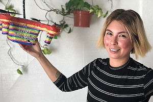 Only Here Podcast: San Diego Artist Explores Piñatas As P...