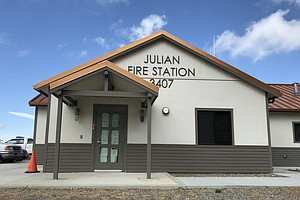 Julian Firefighters Reach Agreement With County Over Fire...