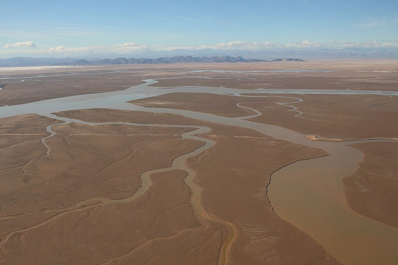 The Colorado River pictured in this undated photo.