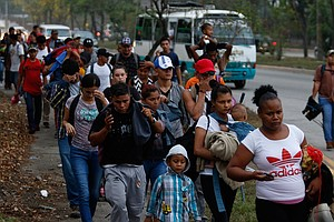 New Migrant Caravan Sets Out In Honduras