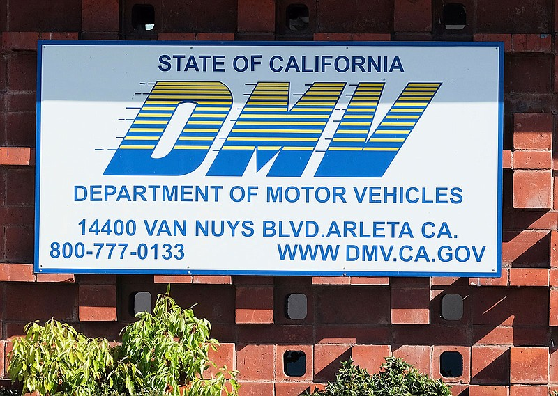 The California Department of Motor Vehicles office in the Arleta neighborhood...